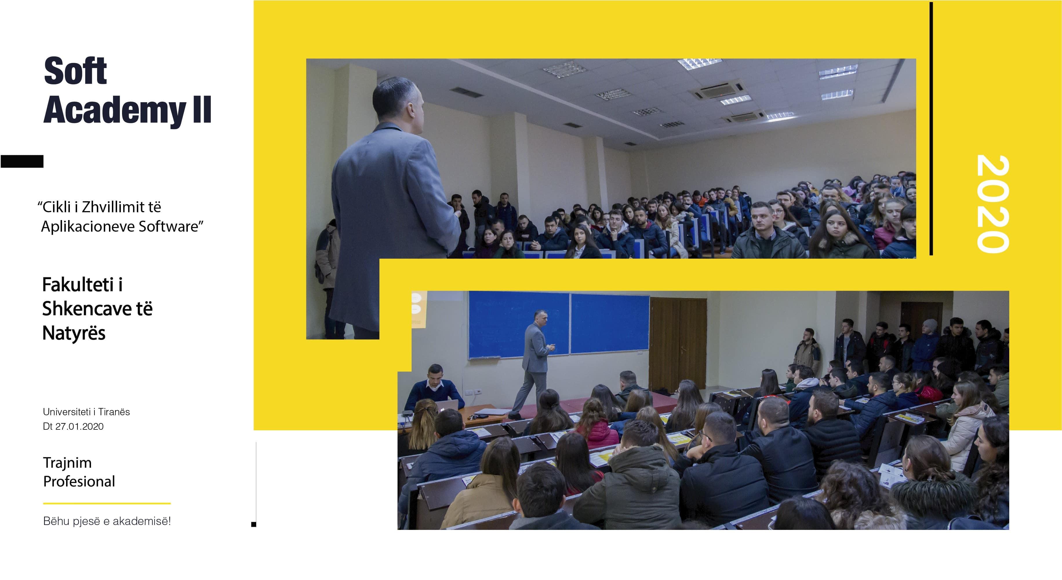 Fakultetit të Shkencave të Natyrës, Prezantimi i Soft Academy, Shkencave të Natyrës, studentët, Marrëveshja e bashkëpunimit